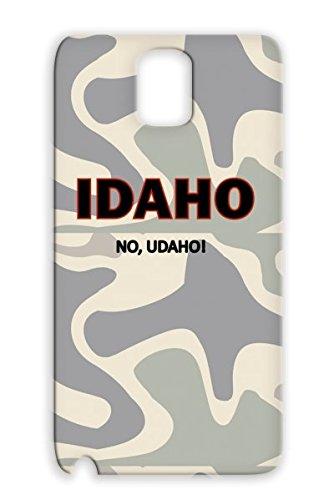 Tpu Bronze Anti-Scuff Funny Lol Insults No Funny Insult Udaho Idaho Mad Tv Humor You Comedy Ho Joke Idaho, Udaho For Sumsang Galaxy Note 3 Protective Hard Case