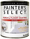 True Value UGF1-QT Painter's Select White Pastel Base Interior/Exterior Urethane Fortified Gloss Porch and Floor Coating, 1-Quart