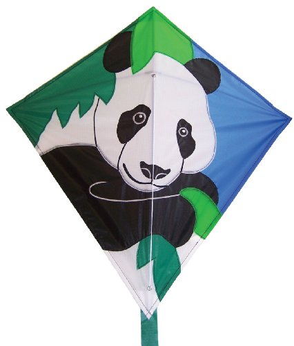 In the Breeze Panda Diamond Kite, 28-Inch