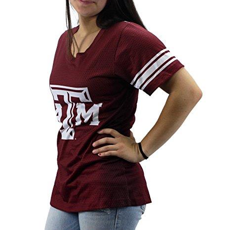 50d3eb827c9 Creative Apparel Women  s NCAA Texas A   M Aggies V-neck T-Shirt ...
