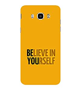 ifasho Believe in yourself Back Case Cover for Samsung Galaxy On8