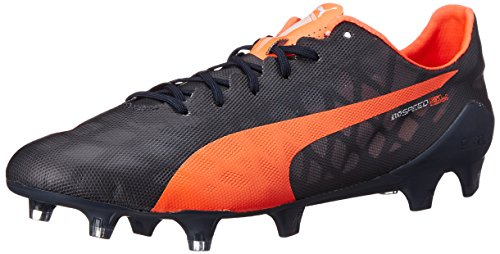 PUMA Men's Evospeed SL Firm Ground Soccer Shoe, Total Eclips