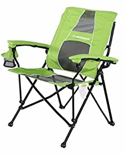 Strongback Elite Folding Camp Chair With