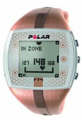 Polar FT4 Women's Heart Rate Monitor Watch (Bronze)