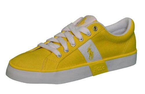 Polo Ralph Lauren Women's Gillian Yellow Shoes-Yellow