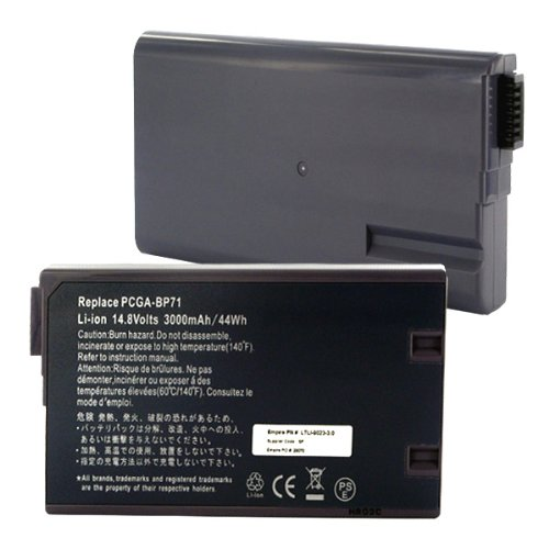 Click to buy 3000mA, 14.8V Replacement Li-Ion Battery for Sony VAIO PCG-F280 Laptops - Empire Scientific #LTLI-9023-3.0 - From only $22.99