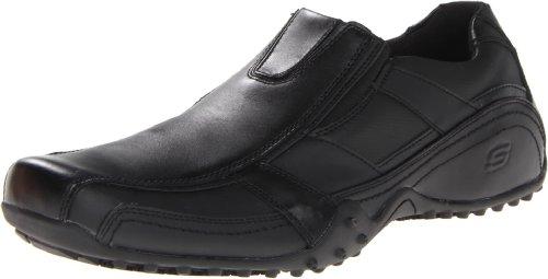 Skechers for Work Men's Rockland-Hooper Work Boot,Black,10 M US (Black Restaurant Shoes compare prices)