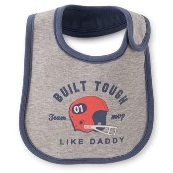 Carter's Built Tough Like Daddy Bib for Teething or Feeding