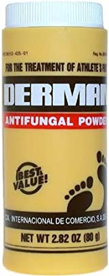 Derman Antifungal Powder for Treatment of Athlete's Foot 80g/2.82oz