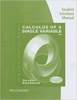 Calculus of a single variable 9th edition homework help
