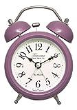 Acctim Towcester 14620 Pembridge Heather Double Bell Alarm Clock