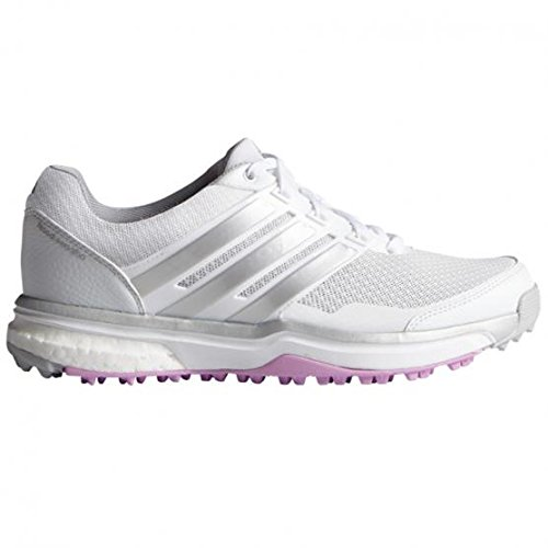 adidas, Scarpe da golf donna MULTICOLORE Blanco / Plata / Morado 38