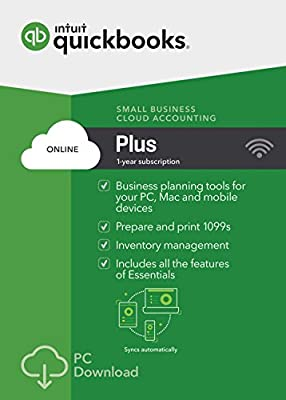 QuickBooks Online Plus 2017 Small Business Accounting [PC Download]
