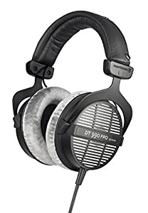 Beyerdynamic DT-990-Pro-250 Professional Acoustically Open Headphones for Monitoring and Studio Applications