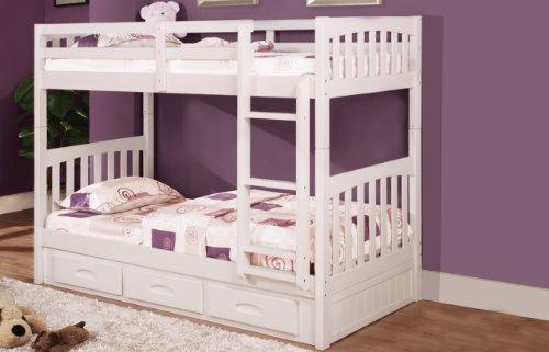 Loft Bed Over Desk 7130 front