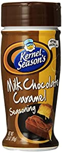 Kernel Season's Milk Chocolate Caramel Popcorn Seasoning, 3 Ounce Shakers (Pack of 6)