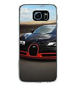 Racing Car 2D Hard Polycarbonate Designer Back Case Cover for Samsung Galaxy S6 G920I :: Samsung Galaxy G9200 G9208 G9208/SS G9209 G920A G920F G920FD G920S G920T