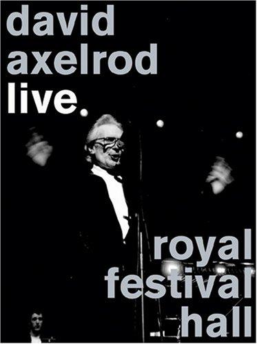 デヴィッド・アクセルロッド ライブ・アット・ロイヤル・フェスティバル・ホール DVD+CD