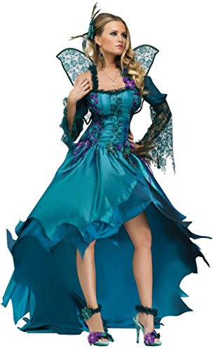 Funworld Womens Peacock Animals Adults Theme Party Fancy Dress Halloween Costume