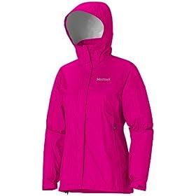 (疯抢)土拨鼠 Marmot 经典户外防水爽肤冲锋衣 Women's Precip Jacket 蓝 $69.96