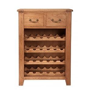 rustikales weinregal manor k che haushalt. Black Bedroom Furniture Sets. Home Design Ideas