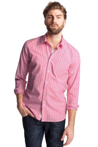 Esprit Men's Casual Shirt Califonian Pink  M