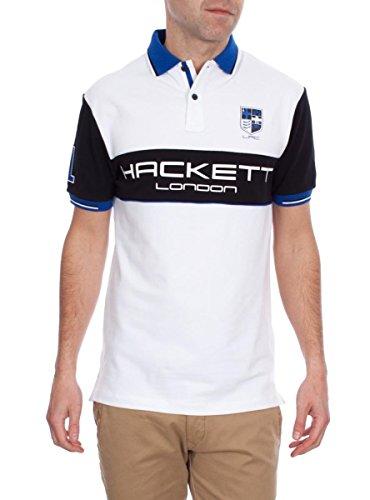 Polo Hackett HKT Bianco XXL Bianco