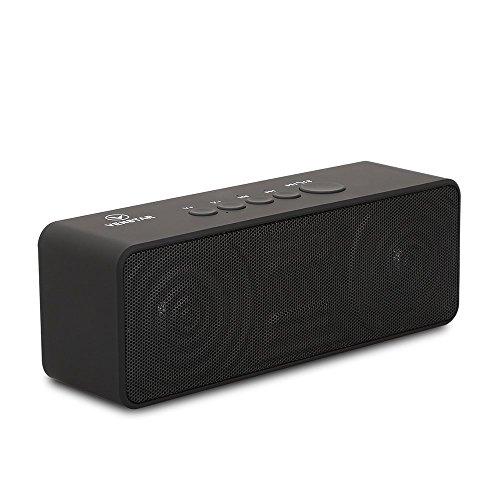 VENSTAR ポータブル Bluetooth4.1 スピーカー ワイヤレススピーカー 高音質/充電式/軽量/マイク内蔵/通話可能
