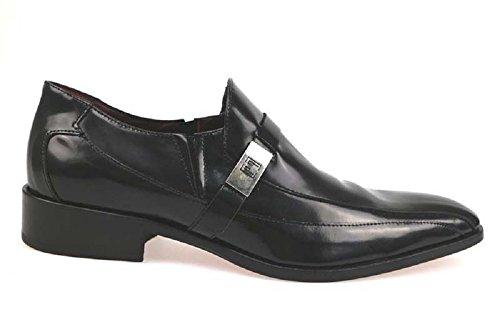 Scarpe uomo CARLO PIGNATELLI classiche nero pelle AP206 (41 EU)