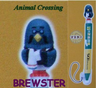 Nintendo DS Animal Crossing PDA Stylus Pen - Brewster (Version 2)