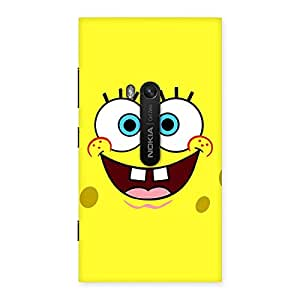 Impressive Spong Yellow Back Case Cover for Lumia 920