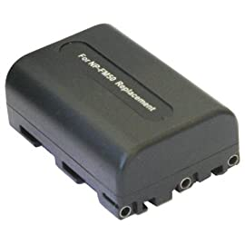 SAVEONs Long Life Replacement Digital Camera Battery Pack for SONY NP-FM50
