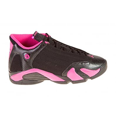 GIRLS AIR JORDAN 14 RETRO (GS) 467798-012 Size 4.5