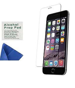 VIMI Transparent Temperd Glass For Apple iPhone 6 Plus(Buy 1 Get 1 Free)