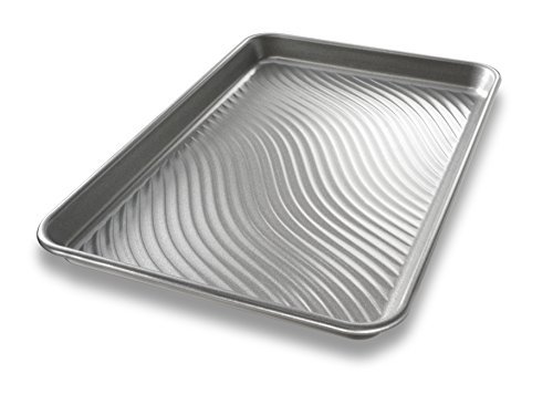 USA Pan Patriot Pan Bakeware Aluminized Steel Jelly Roll Pan (Steel Jelly Roll Pan compare prices)