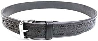"Bullhide Belts Men's Genuine Horse Hide Belt 1-1/2"" Belt Width 32 Black"