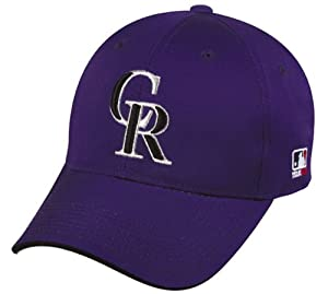 Colorado Rockies ALL PURPLE YOUTH Cap MLB Officially Licensed Major League Baseball... by Team MLB OC Sports Outdoor Cap Co.