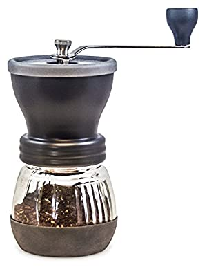 Coffee Grinder from Khaw-Fee - High Quality Adjustable Ceramic Burr