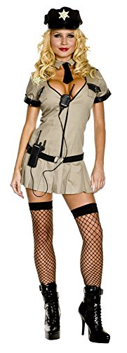 [X-Large Women's Sheriff Costume] (Sheriff Costume Women)