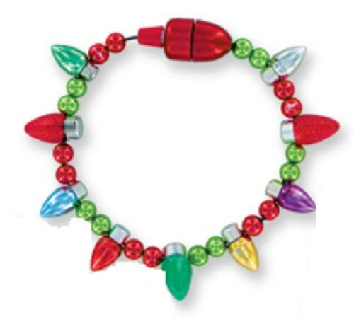 Lotsa Lites Flashing Holiday Bracelet Magnetic