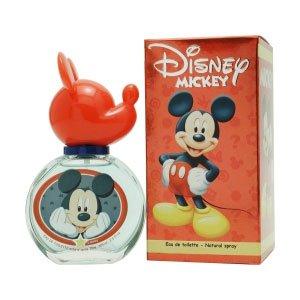 Mickey Mouse pour Les Homme Coffret - 50 ml Eau de Toilette Vaporisateur + 75 ml Gel Douche + Lunchbox