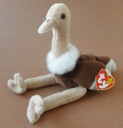 Ostrich Bird Plush Toy Stuffed Animal - 1