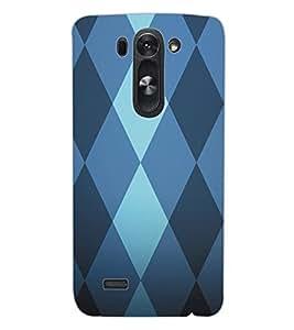 ColourCraft Pattern Design Back Case Cover for LG G3 BEAT