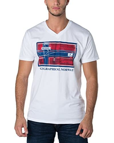 Geographical Norway T-Shirt Snht weiß