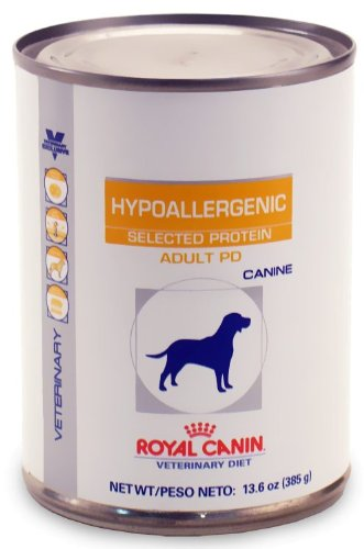z royal canin veterinary diet canine hypoallergenic selected protein adult pd 13 6 oz. Black Bedroom Furniture Sets. Home Design Ideas