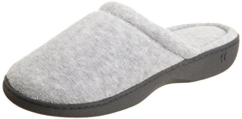 isotoner-womens-terry-clog-large-85-9-heather-gray
