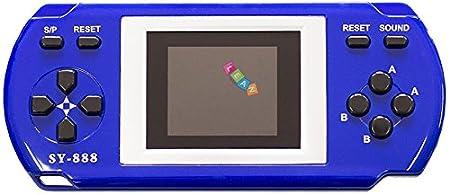 Console de jeu électronique 288 jeux in 1 MARIO BLEU