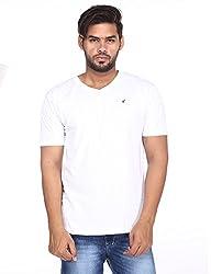 Brink Men White T-Shirt