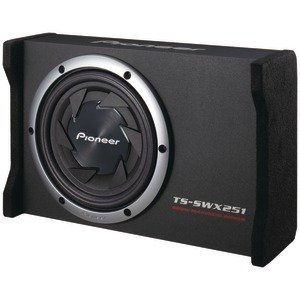 New High Quality PIONEER TS SWX251 10 SHALLOW SERIES PRELOADED ENCLOSURE (CAR STEREO SUBS)