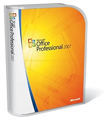 Microsoft Office 2007 Professional - 1 PC Full Version International English (269-10342)